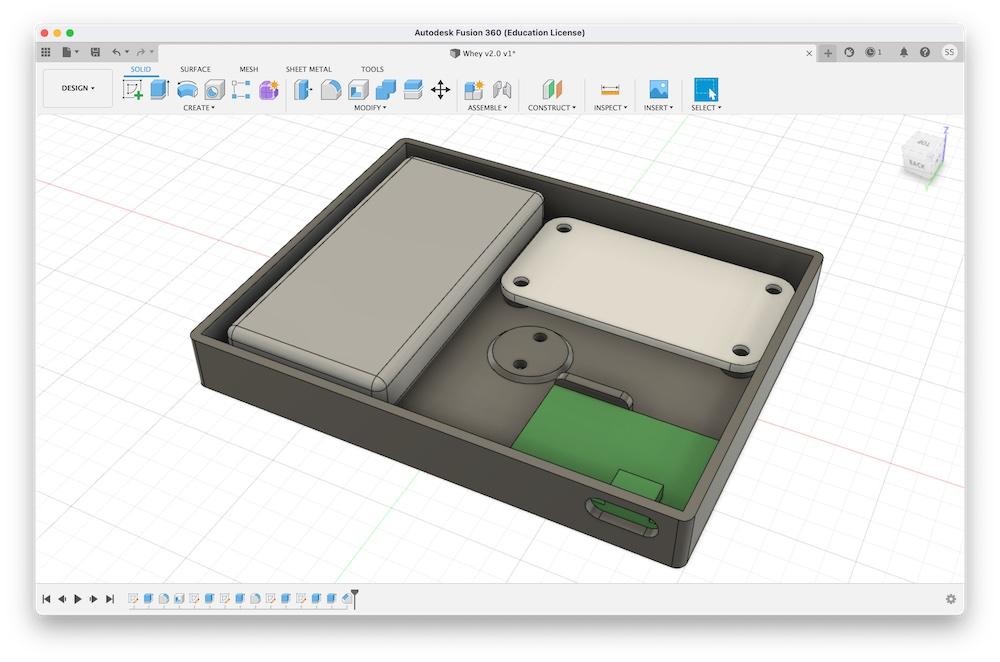 V2.0 initial design